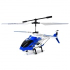Iphone / Ipad / Ipod / Android Phones kontrollierter nachladbarer 3.5-CH IR R / C Helicopter - Blau