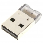 Mini Bluetooth 2.0 USB 2.0 Dongle (Translucent)