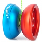 Cool Titanium Alloy YO-YO Toy - Crimson + Deep Blue
