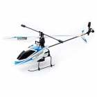 V911 2.4GHz 4-CH Single Propeller Radio Control Helicopter w/ Gyro - Blue + White