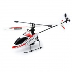 V911 2.4GHz 4-CH Single Propeller Radio Control Helicopter w/ Gyro - Red + White