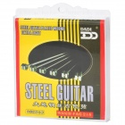 DD-FAG-218 Replacement Steel String Set for Guitar - Silver (6-Piece Pack)