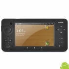 "JXD S5100 Deluxe Edition 5 ""-Touchscreen-Android 2.3 Spielkonsole w / Wi-Fi-/ Dual-Kamera - Schwarz"