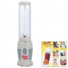 Shake 'N Take Mini Electric Multifunction Fruit / Vegetable Bottle Blender - White (250W / 220V)