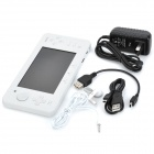 "JXD S5100 Deluxe Edition 5"" Touch Screen Android 2.3 Game Console w/ Wi-Fi / Dual Camera - White"