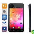 """G21 Android 4.0 WCDMA 3G Smartphone w/ 5.0"""" Capacitive Screen, GPS, Wi-Fi and Dual-SIM - Black"""