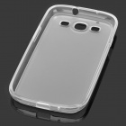 Protective TPU Case for Samsung i9300 Galaxy S3 - Translucent White