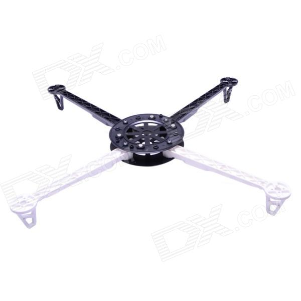 4-Axis HJ600 Plastic Multi-Copter Quadcopter XCopter Frame Kit - White + Black carbon steel cylinder head self tapping screws round hex socket m2 m2 6 m3 m3 5 m4 m5 m6 screws for audio speaker ha screws