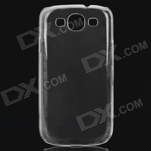 Simple funda protectora del PC para Samsung Galaxy S3 i9300 - blanco transparente
