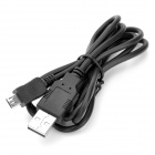 USB 2.0 Sync Data / Charging Cable with Micro USB Port for Samsung / Nokia / BlackBerry - Black