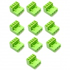 5.08mm 300V 10A 4-Pin Plug In PCB Terminal Blocks (10-Piece Pack)