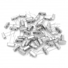 6166 6170 Electronic DIY 12MHz Crystal Oscillator - Silver (50-Piece Pack)