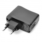 AC Power Adapter w/ 10-in-1 USB Charging Cable for iPhone / Nokia / Samsung / LG - Black (EU Plug)
