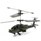 U803 IR Controlled Rechargeable 3.5-CH R/C Helicopter - Army Green