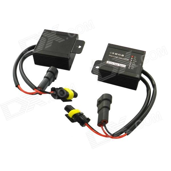 HID Xenon CAN-bus Warning Canceller Decoder - Black (2-Piece) lacywear u 4 tal