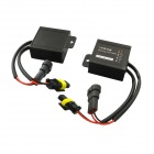 HID Xenon CAN-bus Warning Canceller Decoder - Black (2-Piece)