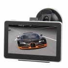 "5.0"" Resistive Touch Screen WinCE 6.0 GPS Navigator w/ 4GB TF/Bluetooth/AV-IN/Brazil + Argentina Map"