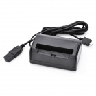USB Charging Dock Cradle for Sony LT26i Xperia S - Black
