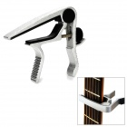 DD-GP004F Nickel Plated Capo for Folk Guitar - Black + Silver