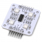 SPI RGB 5V 4xSMD 5050 LED Light Module for Arduino (Works with Official Arduino Boards)