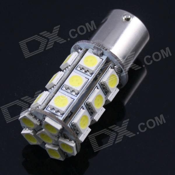 1156 4W 350LM 24X5050 SMD LED White Light Car Decoration Lamp