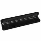 Exquisite Long Square Velvet Gift Box - Black