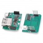 FR160B PCB 2-Layer USB Portable Power Module - Green (3.5 x 2.6 x 1.5cm)