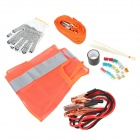 SPS-01 38-teilige Car Emergency Kit - Dunkelgrau