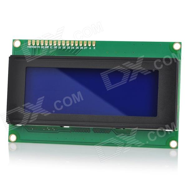 80 Character 3.1' LCD Display Module for Arduino (Works with Official Arduino Boards) 16 characters 2 lines character lcd1602 module blue backlight