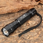 UltraFire WF-501B 105lm 1-Mode Green Light Flashlight w/ Holster - Black (1 x 18650)