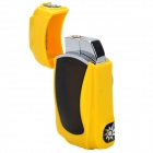 Creative Sports Car Style Windproof Butane Jet Lighter - Yellow + Black