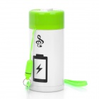 5000mAh Mobile Power Battery Charger + MP3 Player + USB Flash Disk Combo for iPhone / Nokia