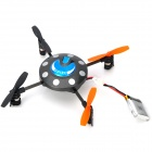 Mini Rechargeable 3.5-CH 4-Propellers Quad-rotor R/C UFO - Black + Orange