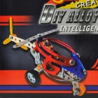 Intellectual Development DIY Assembly 3-Wheel Helicopter Kit - Black + Red + Yellow + Blue