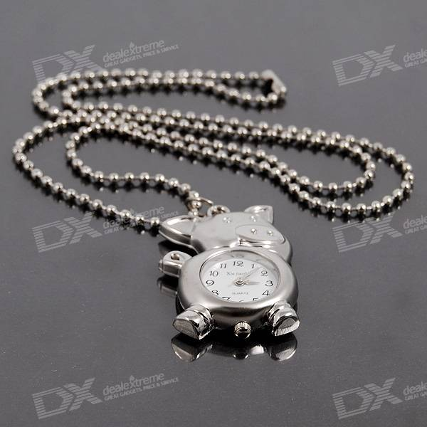 Charming Necklace Watch (Piggy)