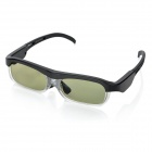 3D Active Shutter Glasses for DLP-Link Ready Projector - Black + Transparent