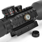 3~10*42E 532nm Red/Green Sight Laser Scope for 20mm Rail Gun - Black