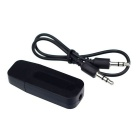 Bluetooth V2.1+ EDR Wireless Audio Receiver w/ 3.5mm Jack Cable - Black