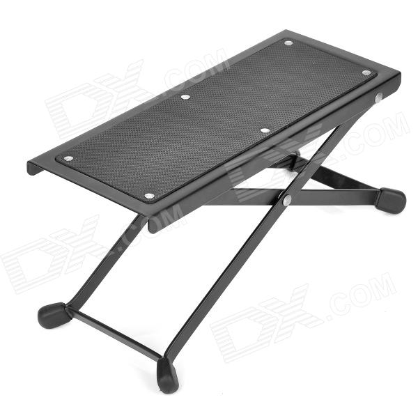 XZ--788 Adjustable Footrest for Classical Guitar - Black 1 piece guitarfamily metal jack plate for electric guitar 0182 made in korea