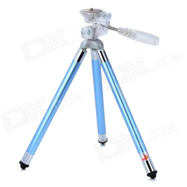 FOTOPRO FY-583 Mini Retractable 8-Section Tripod - Blue helicoil insert 18 8 stainless steel unified us coarse 1 1 4 7 x 1 5d 1 875 lgth qty 25