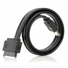 SA-009 2-in-1 SATA 22-Pin to ESATA USB Data Cable - Black (50cm)