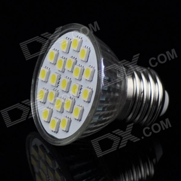 E27 4W 350LM Cold White Light 21*5050 SMD LED Spotlight (110V)