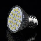 E27 4W 5500~6500K 350LM 21-LED White Light Bulb (AC 110V)