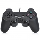 Wired Gaming Controller w / USB-Adapter für PS2 / PS3 / PC - Schwarz (150cm-Kabel)