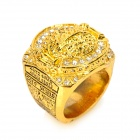 2010 NBA Champion Los Angeles Lakers Style Ring - Golden + Silver