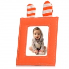f1-2 Cute Rabbit Style Photo Frame - Orange