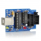 Dedicado originales USBtinyISP Downloader 2.0 w / Two Cables para Arduino - Azul