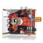 6N11 Class A Hybrid Tube Headphone Amplifier - Red