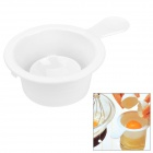Stylish Resin Egg Separator - White