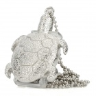 Tortoise Style Stainless Steel USB 2.0 Flash Drive - Silver (16GB)